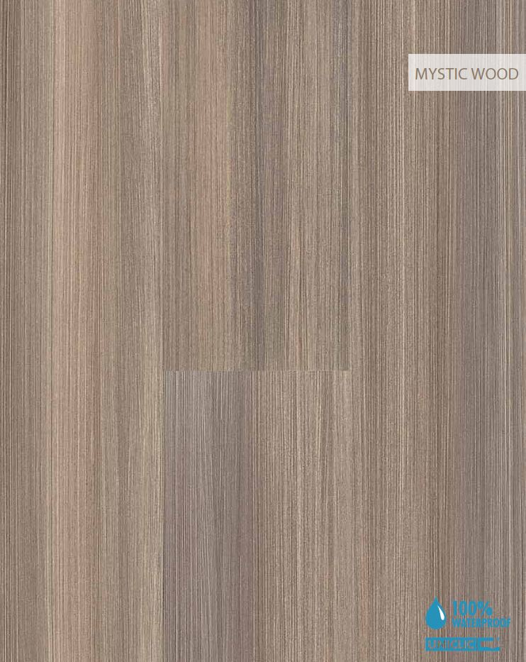 Aquastep Mystic Oak Wood Effect Waterproof Bathroom And