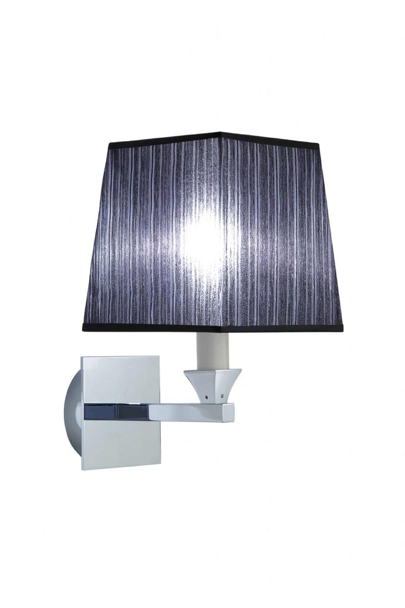Imperial Astoria Wall Lamp With Square Open Backed Flat