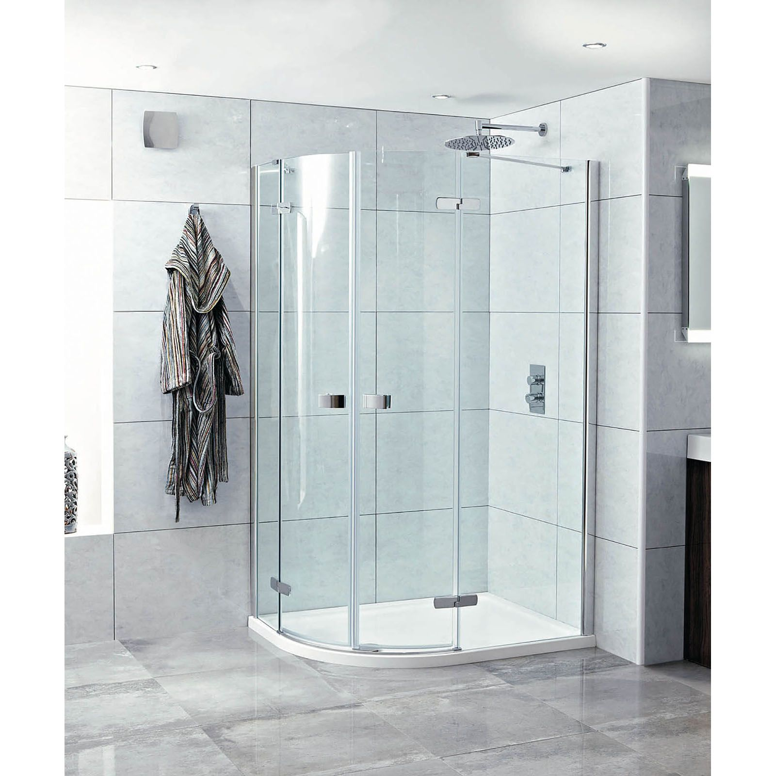 Phoenix idyllic 1200 x 900mm frameless hinged door for 1200 hinged shower door