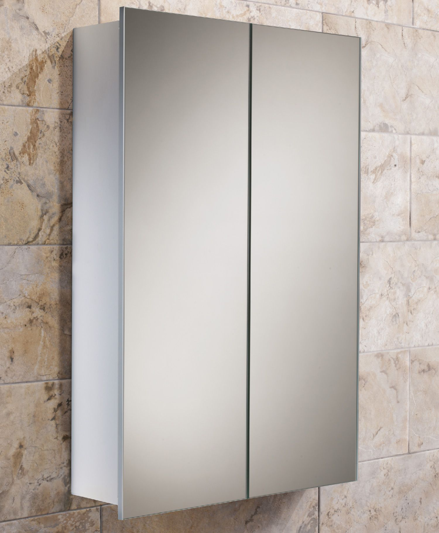 Hib Jupiter Double Door Aluminium Bathroom Cabinet X