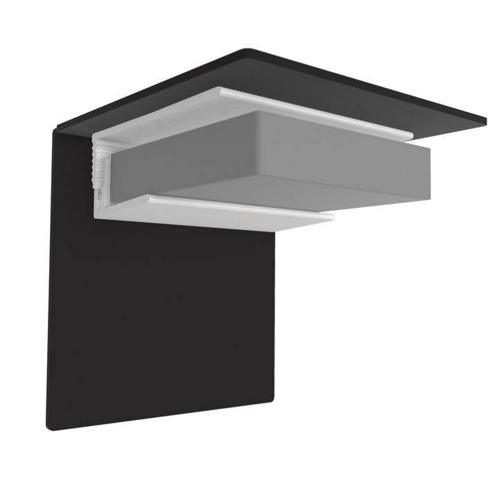 Multipanel PVC Ceiling End Cap Type L