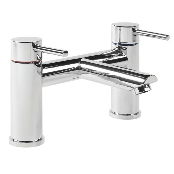 Tavistock Lift Deck Mounted Bath Filler Tap TLF32