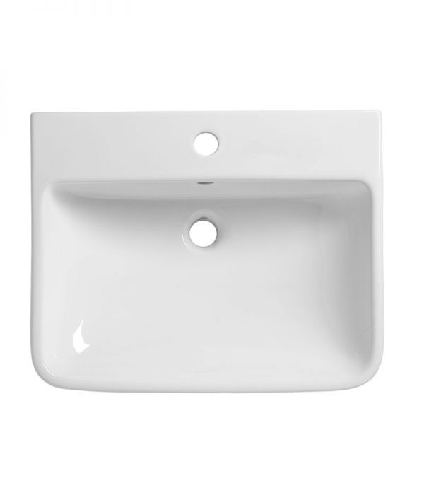 Tavistock Structure 550mm Semi Countertop Basin